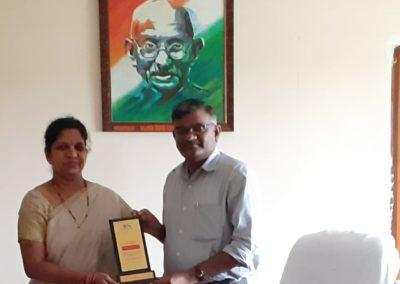 Dr. Sree Lakshmi Moorthygari <br />Best HOD<br />Mahatma Gandhi University, Telangana
