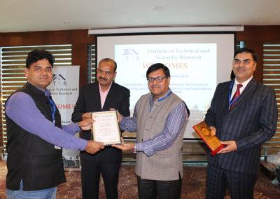 Dr. Balram Tripathi  <br /> Best Scientist <br /> S S Jain Subodh PG (Auto.) College Jaipur