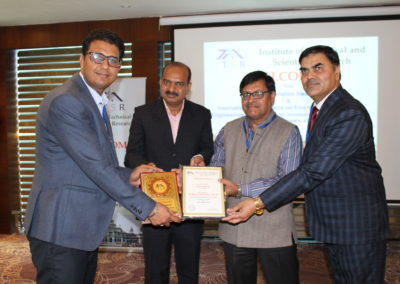 Sumit Sharma  <br /> Excellence in Rural Initaives <br /> ICICI Foundation